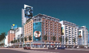 Architect's Rendering of Hollywood & Vine Project