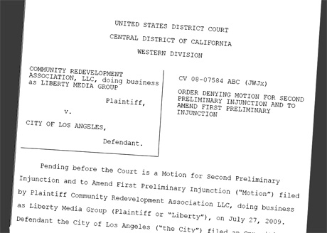 Liberty Media Injunction