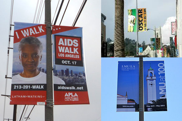 Non commercial advertising examples