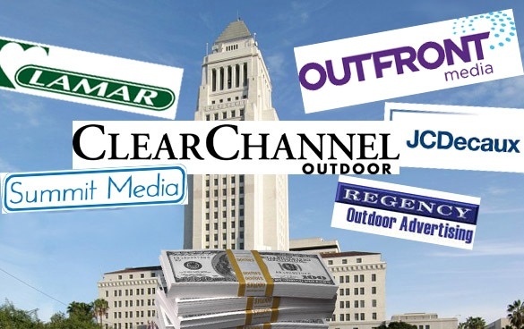 Loosening the Purse Strings:  Billboard Companies Spent Millions Lobbying L.A. Officials in 2015