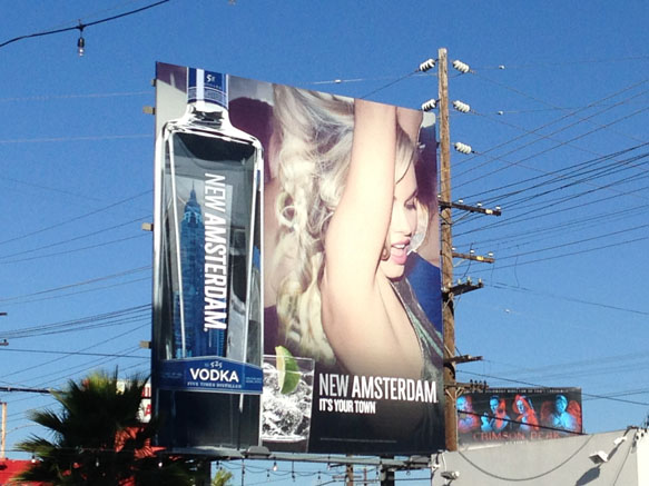 Alcohol, Tobacco, Guns and Sex—Staples of Outdoor Advertising in Los Angeles