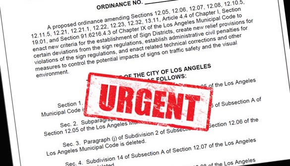 Sign Ordinance Urgent 2