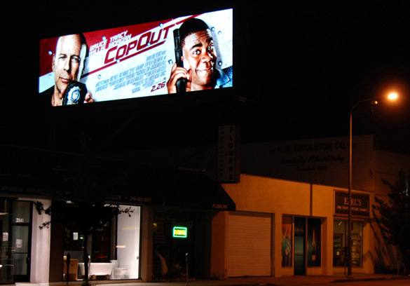 Will this digital billboard re-appear?  In this location, or elsewhere?  Photo from 2010.
